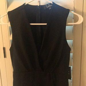 NEW, never worn Lulu's black sleeveless dress